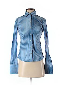 Ezra Fitch Long Sleeve Button-Down Shirt Size S