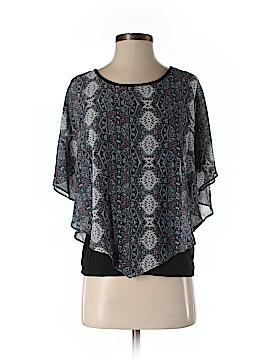 I.N. Studio Short Sleeve Blouse Size S (Petite)
