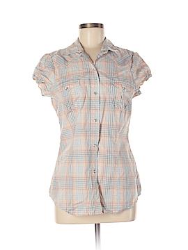 Roper Short Sleeve Button-Down Shirt Size M