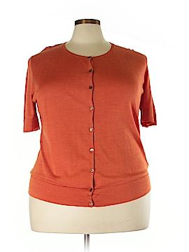 Lafayette 148 New York Silk Cardigan Size 2X (Plus)