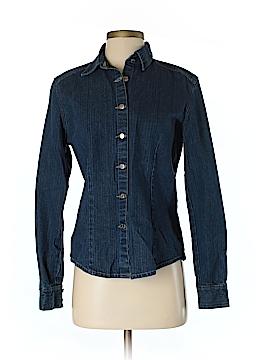 Gander Mtn Long Sleeve Button-Down Shirt Size S