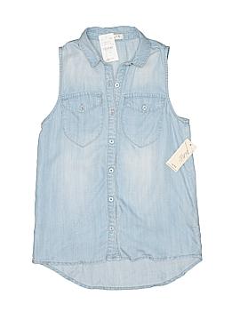 Pinc Premium Sleeveless Button-Down Shirt Size X-Large (Youth)
