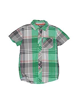 Eddie Bauer Short Sleeve Button-Down Shirt Size 7