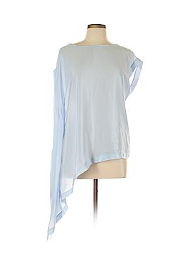 Karen Millen Short Sleeve Silk Top Size 10