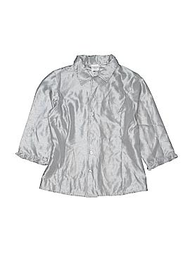 Talbots Kids Long Sleeve Blouse Size 12