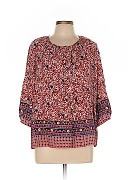 Silkland 3/4 Sleeve Blouse Size L