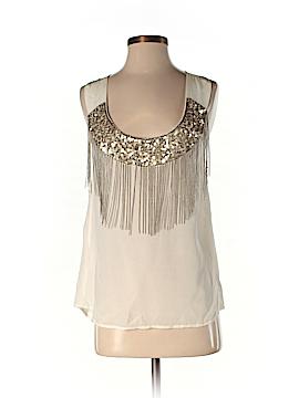 Jenny Han Sleeveless Silk Top Size XS