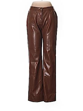 BCBGMAXAZRIA Faux Leather Pants Size 8