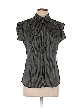 Worthington Short Sleeve Button-Down Shirt Size M