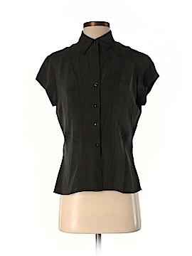 Jones New York Collection Short Sleeve Silk Top Size 4