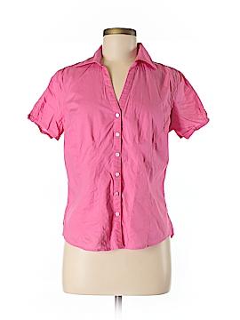 Eddie Bauer Short Sleeve Button-Down Shirt Size M