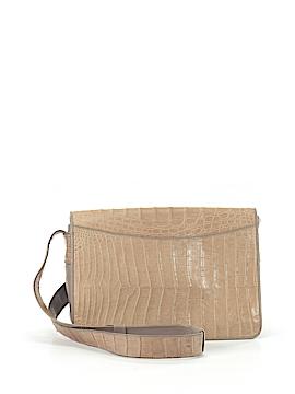 Donna Karan New York Leather Messenger One Size