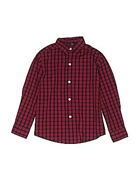 Nautica Long Sleeve Button-Down Shirt Size 5 - 6