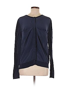Halogen Long Sleeve Silk Top Size M