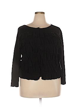Per Se Silk Cardigan Size XXL