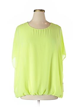 Vince Camuto Short Sleeve Blouse Size 1X (Plus)