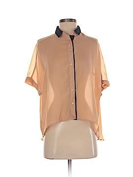 Pull & Bear Short Sleeve Blouse Size S