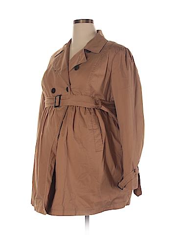Liz Lange Maternity Trenchcoat Size XXL (Maternity)