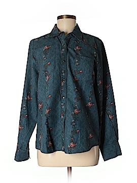 Legacy Long Sleeve Button-Down Shirt Size M