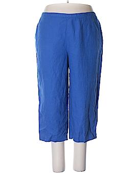 Kim Rogers Linen Pants Size 2X (Plus)