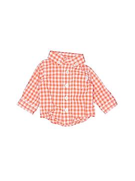 Baby B'gosh Long Sleeve Button-Down Shirt Newborn