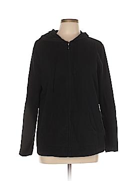 Karen Scott Sport Zip Up Hoodie Size L