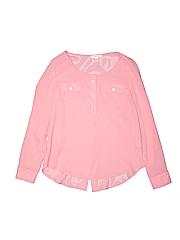 Mine Women 3/4 Sleeve Blouse Size S
