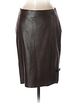 Tufi Duek Faux Leather Skirt Size 42 (EU)