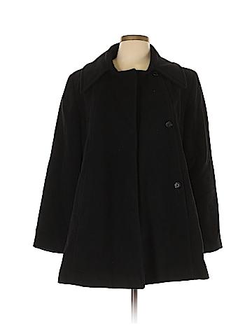 Halston Wool Coat Size 10