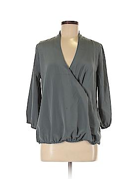 Lands' End 3/4 Sleeve Blouse Size 4