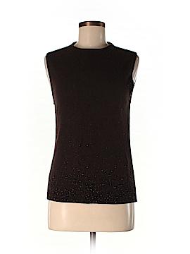 Carmen Marc Valvo Cashmere Pullover Sweater Size M