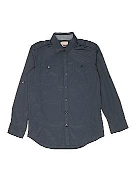 Sovereign Code Long Sleeve Button-Down Shirt Size 14 - 16