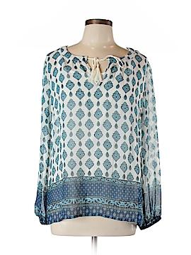 Rose & Olive Long Sleeve Blouse Size L