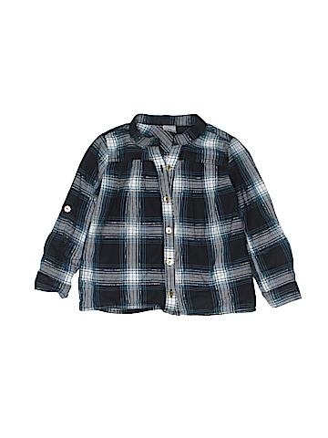 Carter's Long Sleeve Button-Down Shirt Size 2