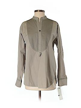 Pas De Calais Long Sleeve Button-Down Shirt Size S