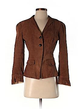Diane von Furstenberg Leather Jacket Size 4