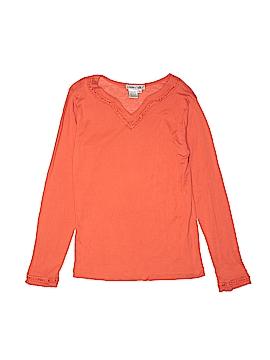 Winter Silks Long Sleeve Silk Top Size M