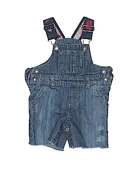 Koala Kids Overall Shorts Size 0-3 mo
