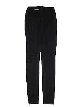 BCBGMAXAZRIA Faux Leather Pants Size XXS