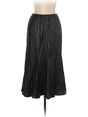 Joseph Ribkoff Faux Leather Skirt Size 10