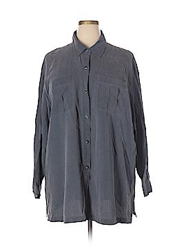Elisabeth by Liz Claiborne Long Sleeve Button-Down Shirt Size 3X (Plus)
