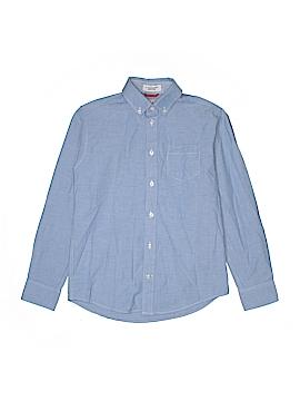 IZOD Long Sleeve Button-Down Shirt Size 10-12