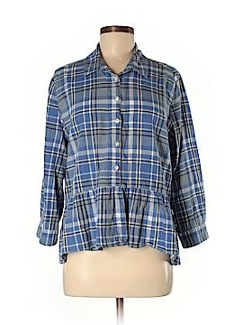 Trovata Long Sleeve Button-Down Shirt Size M