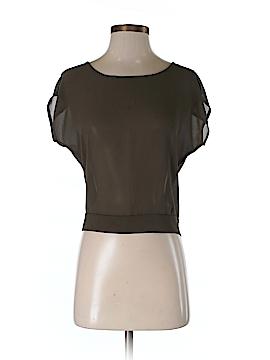 The Arte by ZENANA Short Sleeve Blouse Size M
