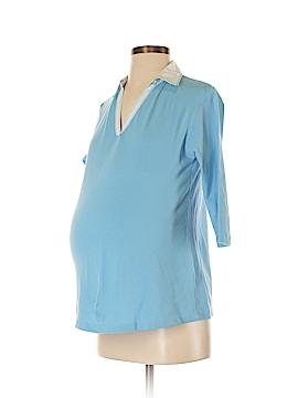 Lilo Maternity 3/4 Sleeve Polo Size S (Maternity)
