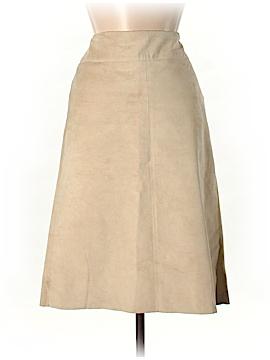 DKNY Leather Skirt Size 4