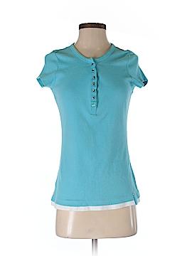 Lizwear by Liz Claiborne Short Sleeve Henley Size M