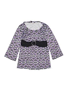Lily Bleu 3/4 Sleeve Top Size 16