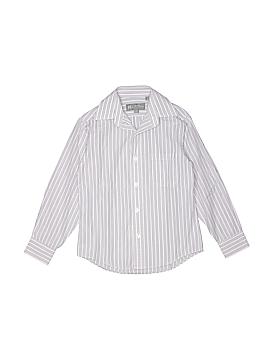 Hickey Freeman Long Sleeve Button-Down Shirt Size 8