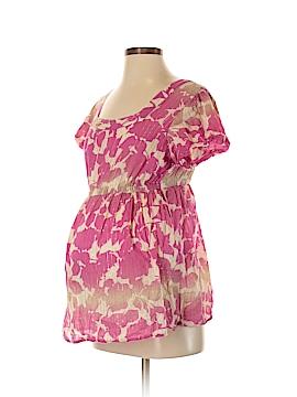 Liz Lange Maternity Short Sleeve Blouse Size S (Maternity)